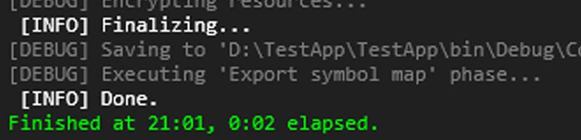 ConfuserExで.NETアプリケーションを難読化する