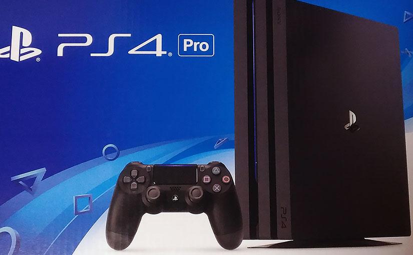 PS4 Pro (CUH-7000BB01)を買いました