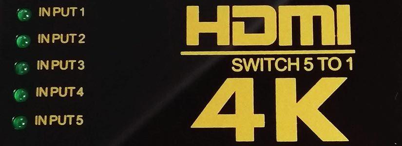 HDMIセレクターが壊れたので買い換えました